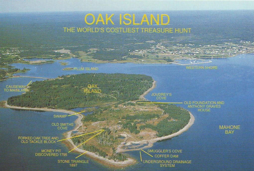 Oak Island Postcard