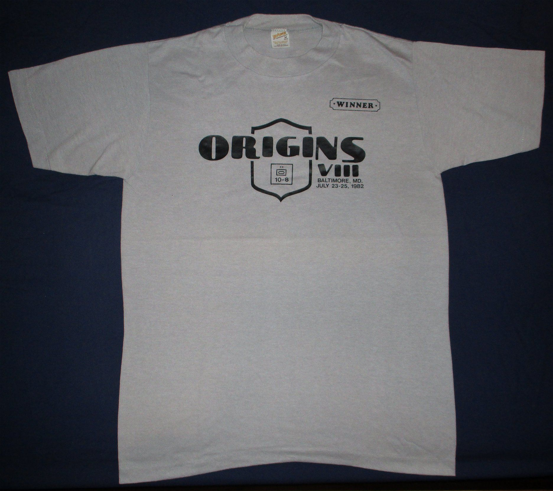Origins '82 Winner's T-shirt