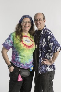 Andy and Kristin of Looney Labs Promo Shoot